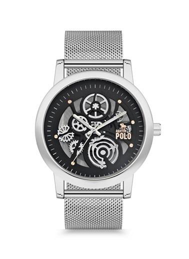 Ashton Polo Saat Gümüş